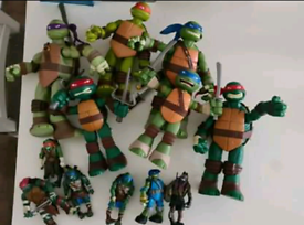 Assorted Ninja Turtles