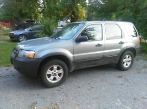 2007 ford escape AWD
