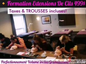 Formations Extensions de Cils/Perfectionnement Volume/Lash Lift
