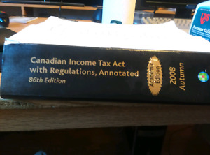 Canadian Income Tax Act with Regulations, Annotated