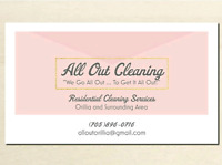 All Out Residential and Cottage Cleaning