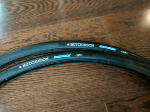 New Hutchinson Equinox 700c Road Bicycle Tires Pair