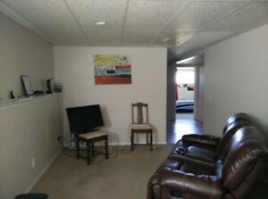2 bedroom lower suite with big windows, separate entrance