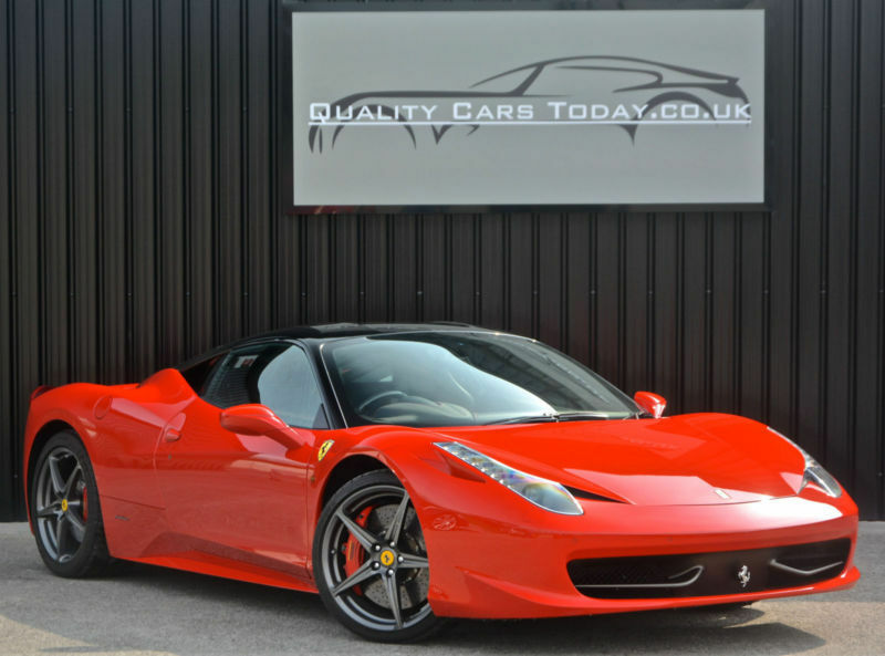 Ferrari 458 Italia *Factory Nero Roof + Carbon Race Seats + Carbon Driving Zone