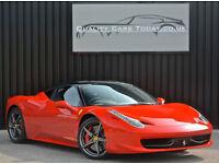 Ferrari 458 Italia *Factory Nero Roof + Carbon Race Seats + Carbon Driving Zone