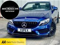 2017 Mercedes-Benz C Class C220d 4Matic AMG Line Premium Plus 2dr Auto CONVERTIB