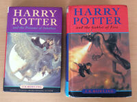 Harry Potter Hardcover Novels by J.K. Rowling (2 books)