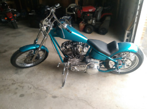 Harnessgrinder custom chopper