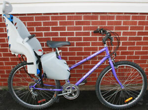 Supercycle Mountain Bike with Child Carrier Seat