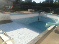 offering  my epertise  swimming pool service