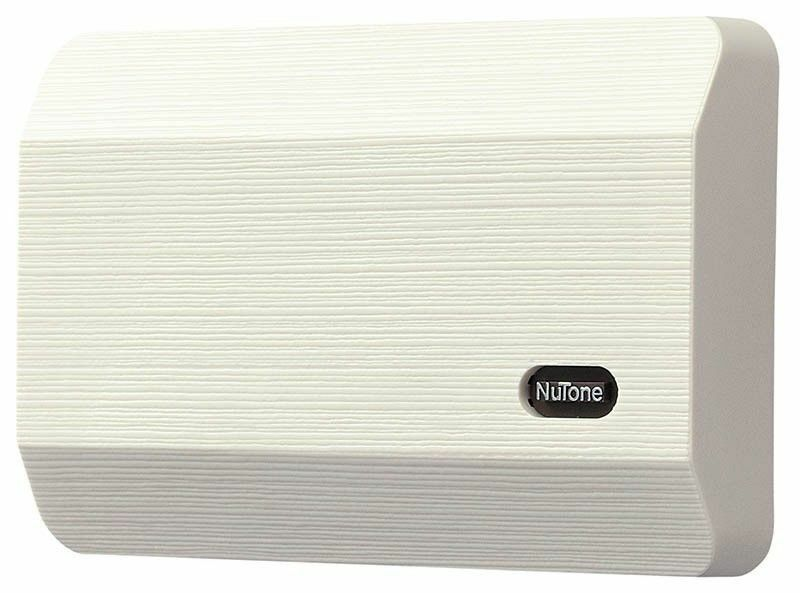 a wired option the nutone la11bg provides individual tones for two different doors taking the guesswork out of where the visitor is standing