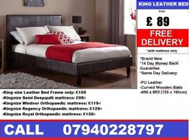 Leathier Bed