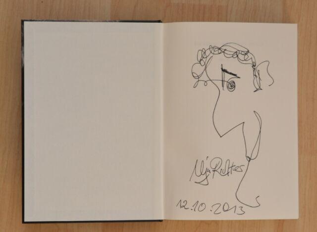"""ORIGINAL Autogamm+Zeichnung von Ilja Richter""""Du kannst nicht immer 60 sein"""" Buch"""