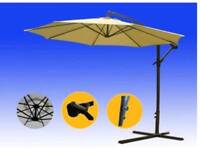 3m banana hanging umbrella with cover