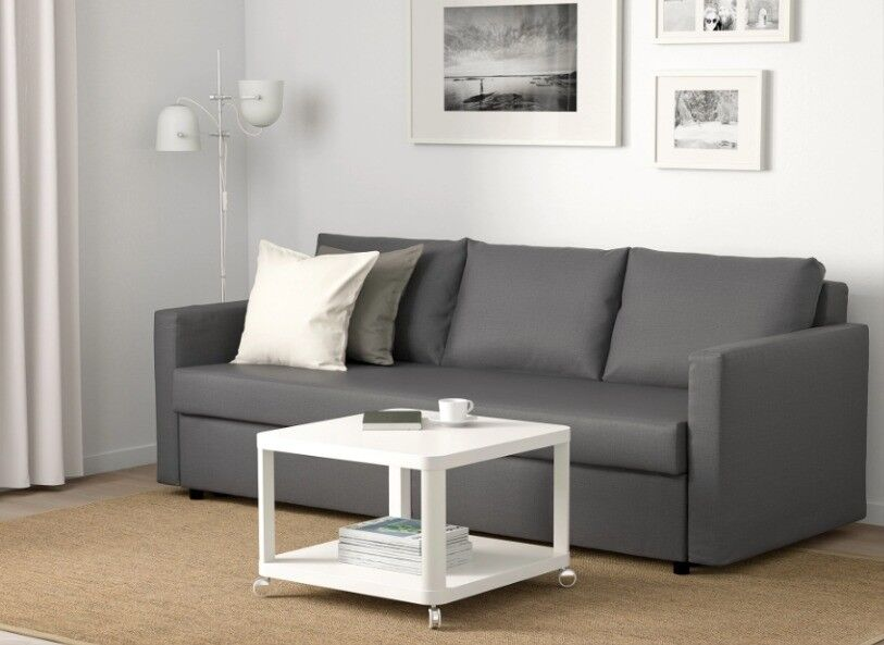 Sofa bed, double size bed with space for storage   in ...