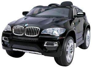 Brand New 12V BMW X6 Electric Child Ride On Toy Car SUV, Leather Seat, Doors, Remote, Radio, SD Card Reader, Story more
