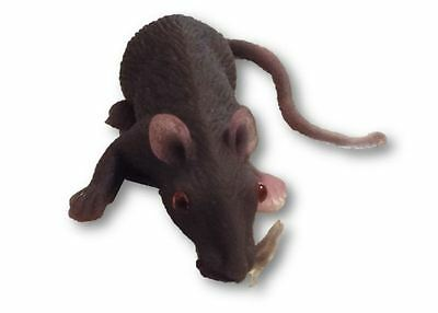 Fake Rubber Small Mouse Rat Gag Gift Joke Prank Realistic Looking