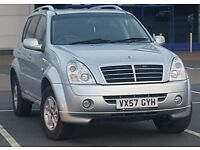 Ssangyong Rexton II 270 S w/CAMERA **Twin Sister of Mercedes ML 270** Cheap Reliable 4x4 Jeep