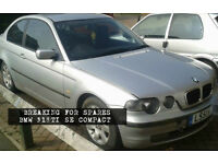 BMW COMPACT #BREAKING FOR SPARES#