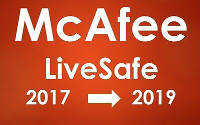 Mcafee Livesafe 2017 Antivirus    Internet Security    Anti Spyware   Antispam