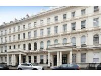 Elegant and spacious 3 DOUBLE BED flat with INTERNET in Lancaster Gate. Hyde Park. Available now