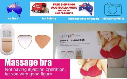 New beauty breast massage pad with adapter - Breast massage pad… Epping Whittlesea Area Preview