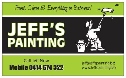 Painter Burpengary and Brisbane North - Jeffs Painting