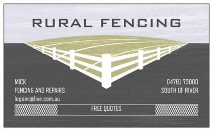 Farm - Rural fencing and general maintenance Kwinana Beach Kwinana Area Preview