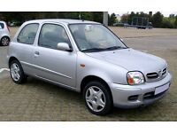 Nisan Micra 2001 - Silver - 108k - MOT until November