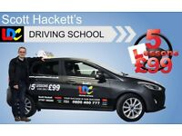 Driving Lesson - 5 Lesson for £99