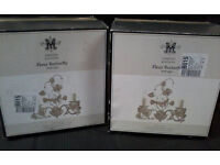 Maison Limited Edition butterfly wall lights - BRAND NEW IN BOX = TWO