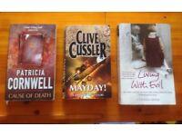 3 paperback books