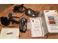 Samsung Galaxy Ace GT-S5830i White(la Fleur)Android Smartphone BRAND NEW BOXED