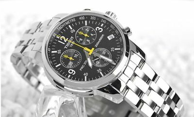 Tissot Couturier Chronograph Stainless Steel Men's Watch T17.1.586.52 Brand New