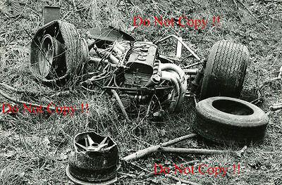 Jim Clark Gold Leaf Team Lotus 48 Hockenheim F2 1968 Photograph 9