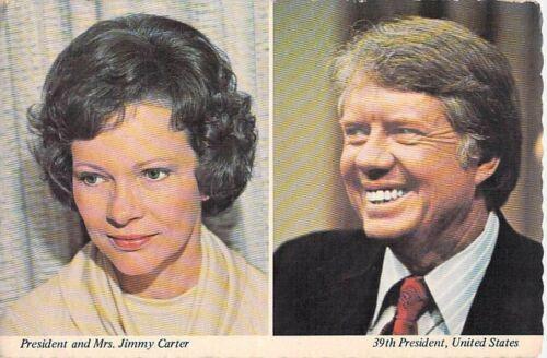 Vintage Jimmy Carter Postcard