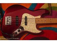 Fender USA 2012 Jazz Bass, Candy Cola.