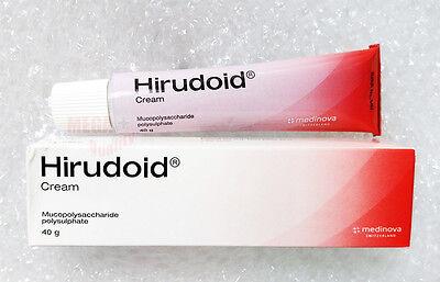 40G  Hirudoid Cream For Scars Bruises Varicose Vein Skin Anti Inflammation Burns