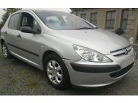 BREAKING 2003 PEUGEOT 307 1.4 HDI -- NO TEXTS PLEASE - NEWRY / ARMAGH