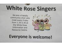 New members needed for community choir