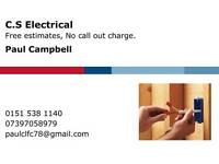 Fully qualified Electrician .No job to small . Free estimates. No call out charge !!!