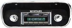 1967-1973-Ford-Mustang-NEW-USA-630-II-300-watt-AM-FM-Stereo-Radio-iPod-USB-Aux