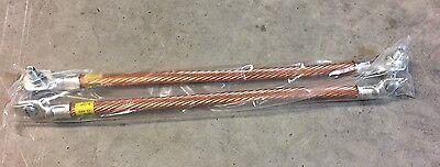 Lot Of 2 Cooper B-line Bonding Jumper Grounding Clamps New 99-40