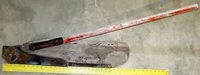 Vintage Power Mower Sickle Grass Board Stick Wearing Strip And Plate 2