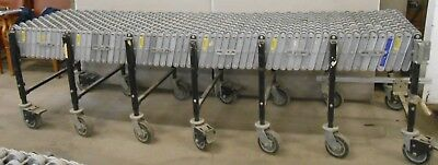 Best Flex Portable 86 To 20 Expandable Skate Wheel Roller Conveyor