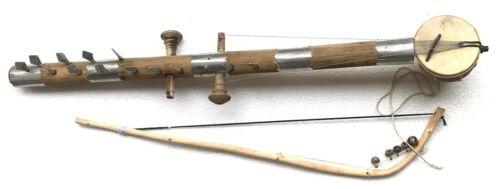 Professional Quality Original Ravan Hatta Folk Instrument Bow Fiddle Sarangi