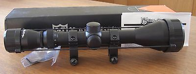 Nikko Stirling 3-9x50mm Hunting Rifle Scope NMC3950W Matte Free Weaver Rings