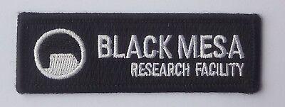 Kostüme Center (Black Mesa Research Center - Patch Aufnäher - Kostüm Aufnäher zum Aufbügeln neu)