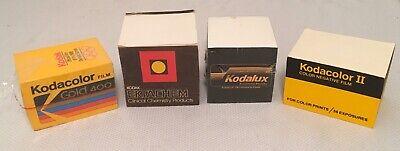 Lot Of 4 Vintage Kodak Stick Note Blocks