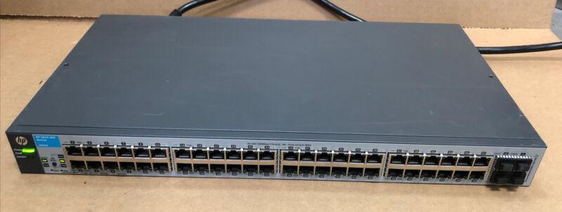 HP J9660A Procurve V1810-48G 48x 10/100/1000 4 SFP Web Managed Switch RMK